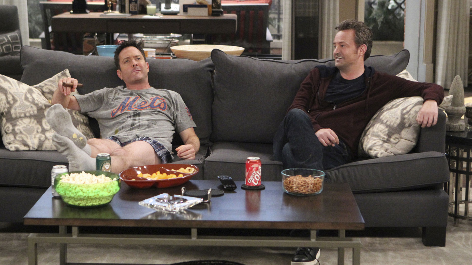 We're itching for hilarious interactions between Felix and Oscar on The Odd Couple.