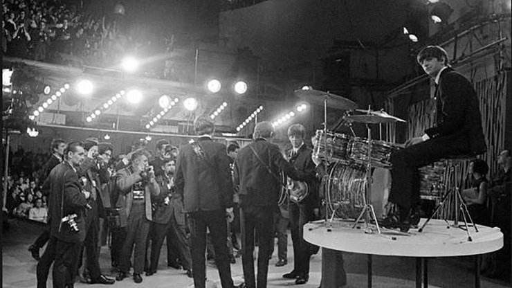 The Beatles made their U.S. debut on The Ed Sullivan Show.