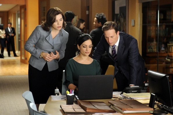 Alicia, Kalinda and Will