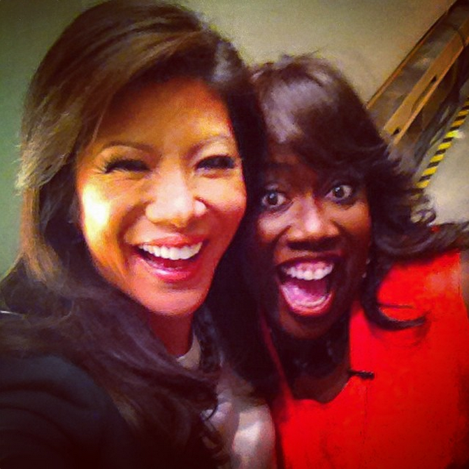 71. Julie Chen & Sheryl Underwood