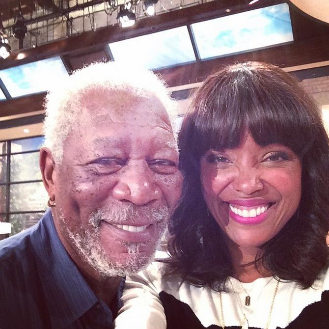 66. Morgan Freeman & Aisha Tyler - Madam Secretary & The Talk