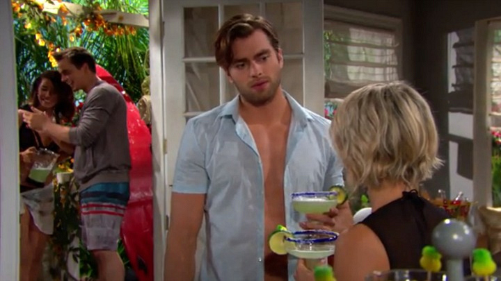 Thomas reminds Caroline of his intentions.