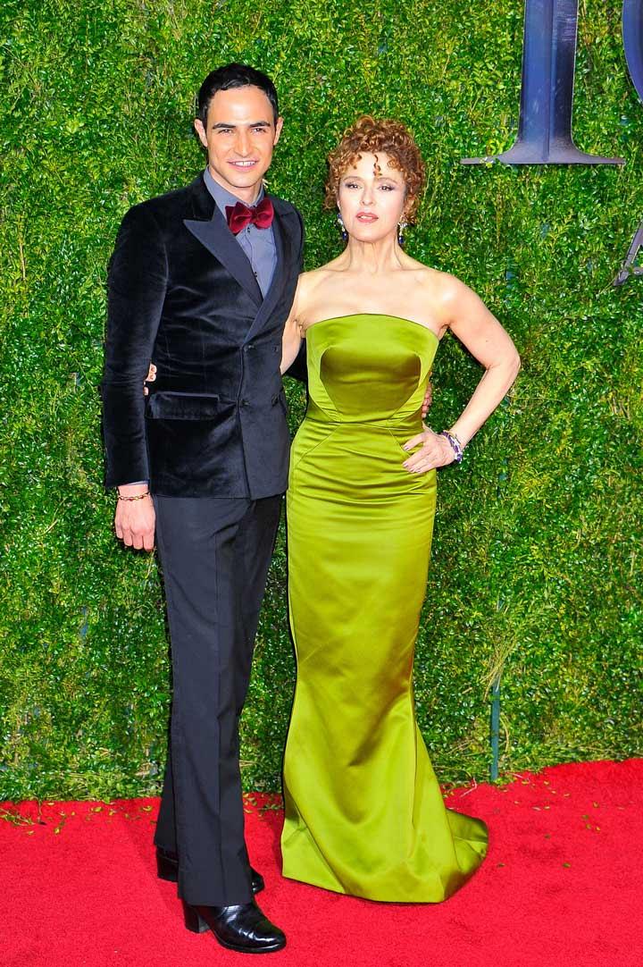 13. Zac Posen and Bernadette Peters