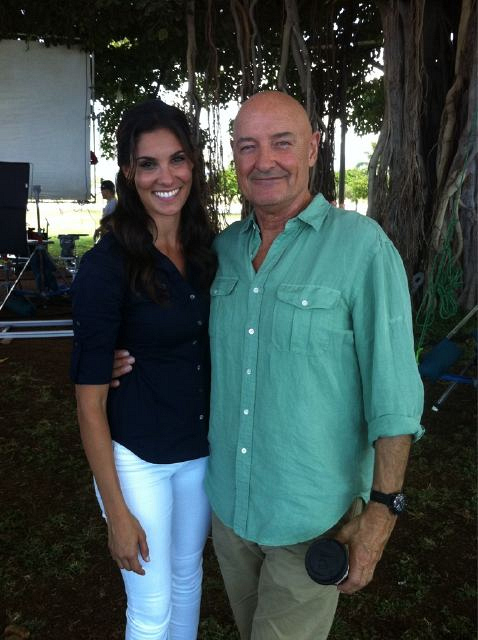 Daniela Ruah and Terry