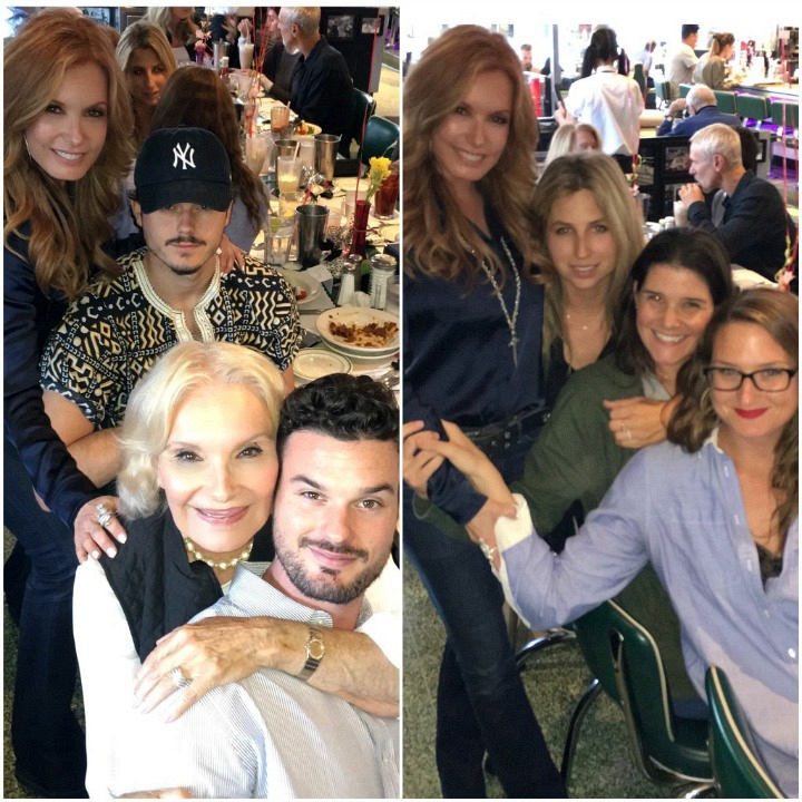 Tracey Bregman (Lauren Fenmore) spent her birthday in May with her family.
