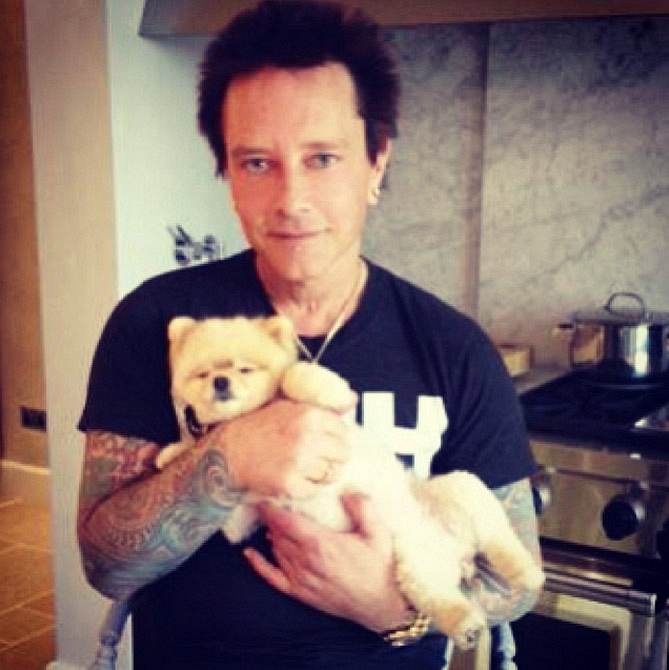 8. Bella has hung out with Billy Morrison.
