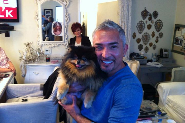 34. Rocky has hung out with Cesar Milan.