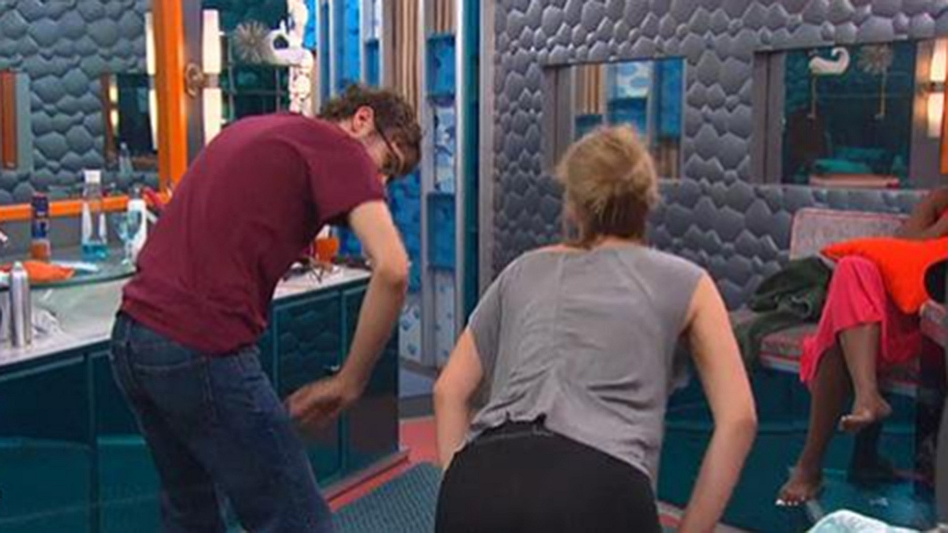 12. Meg teaches Steve how to twerk.