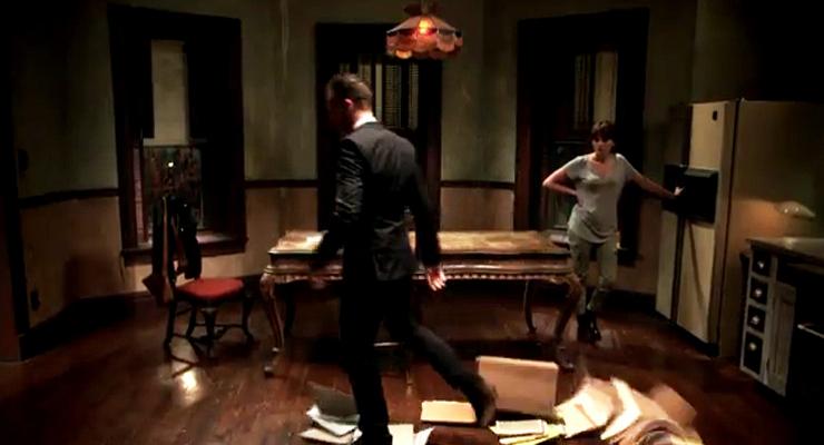 6. Sherlock makes himself right at home.