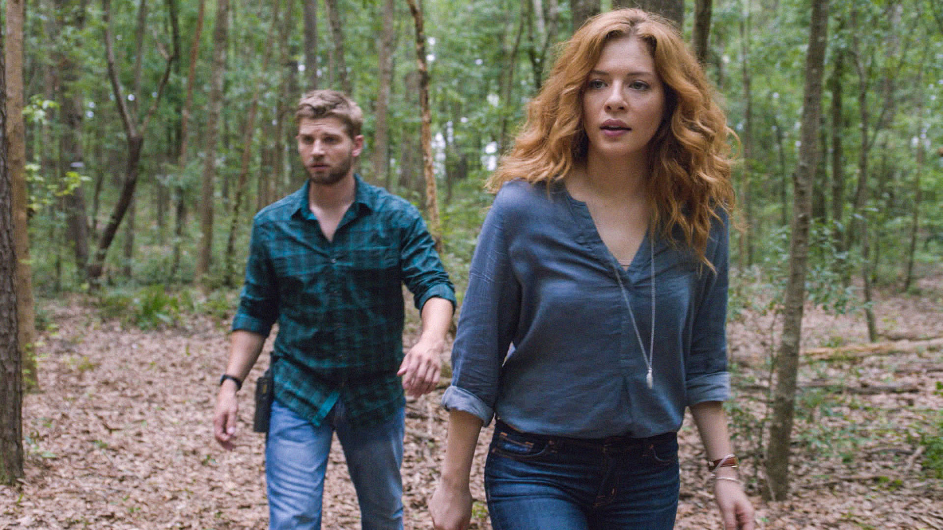 12. When they wandered in the woods together