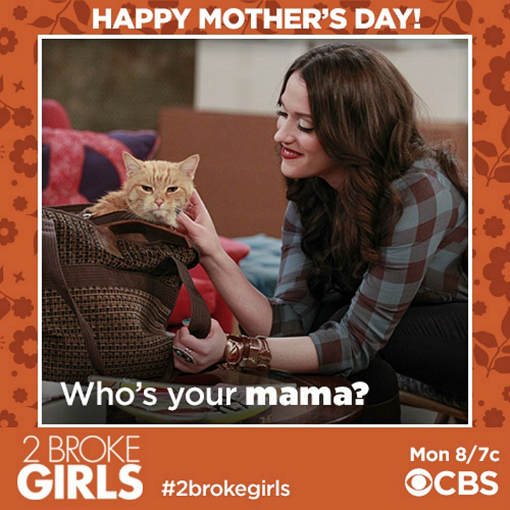 Mother's Day is the cat's meow!