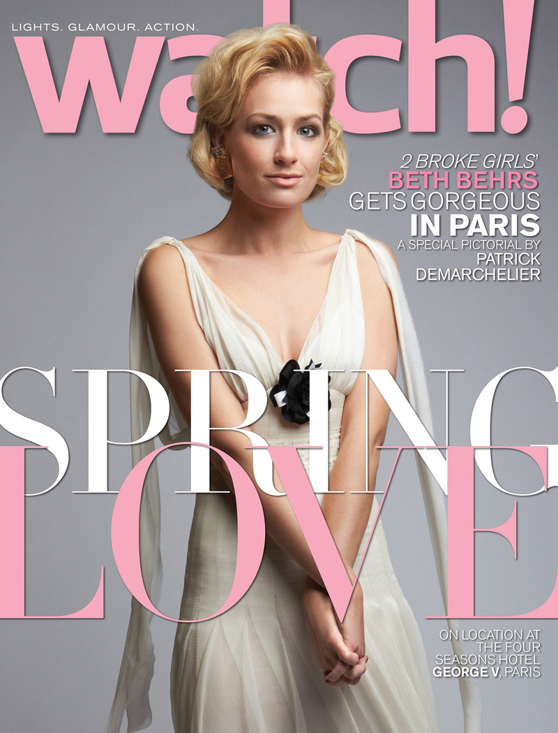 Beth Behrs April 2014 Cover