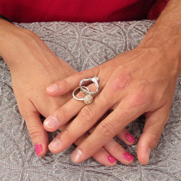 Rachel and Brendon's Rings