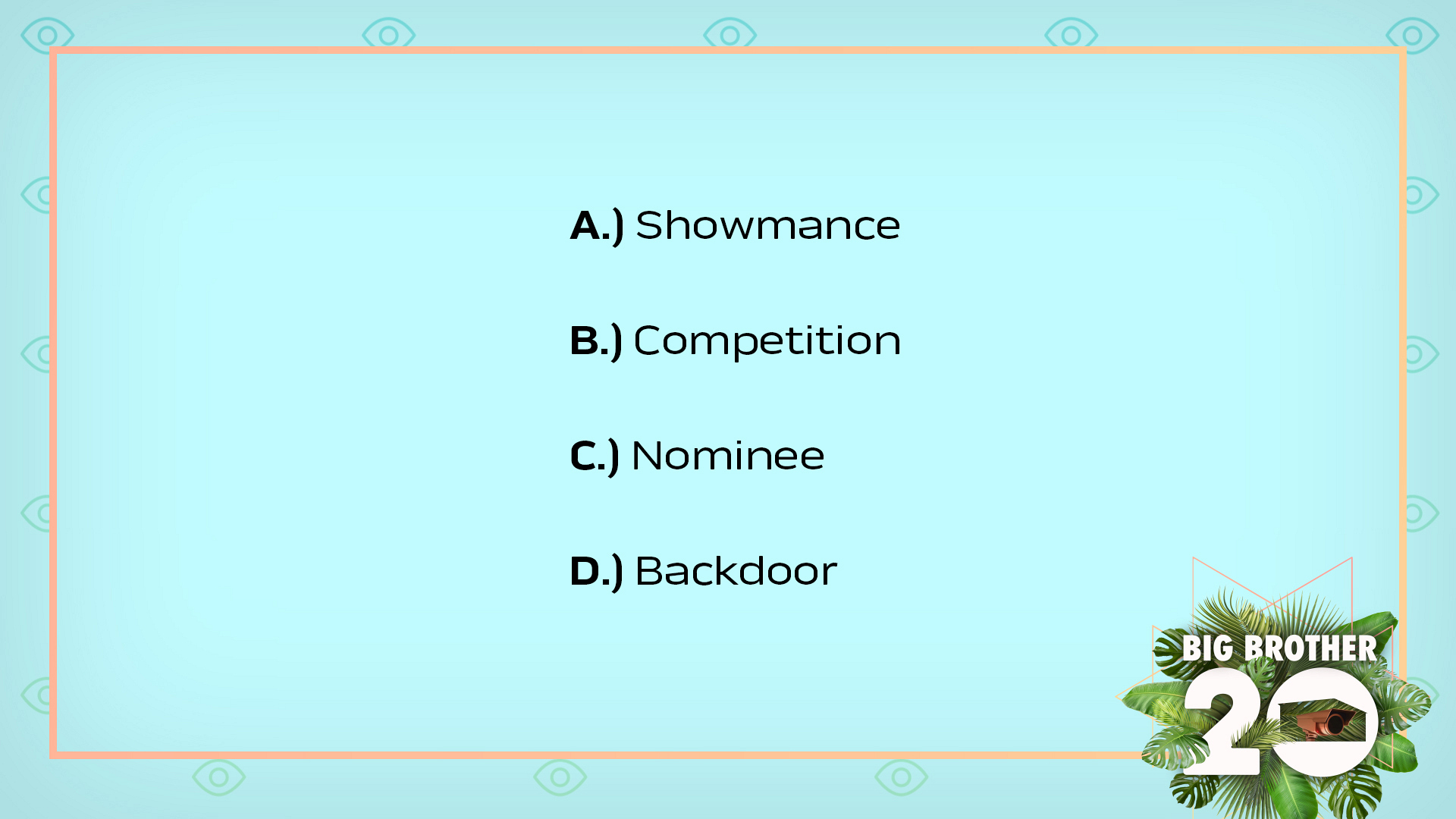 What was the final answer in the BB Hacker word scramble competition?