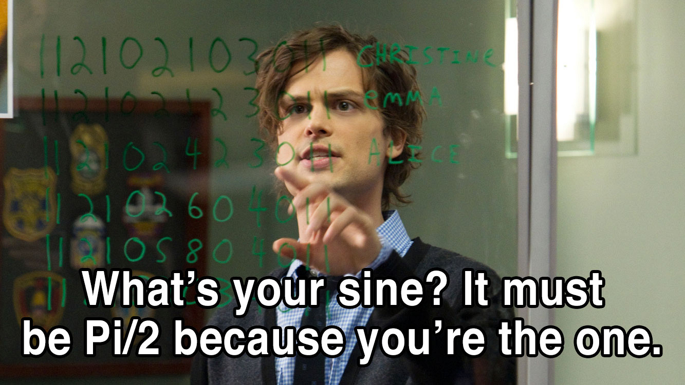 "Dr. Reid knows mathematics, so he can easily replace your ""X"" and you won't ask ""Y."""