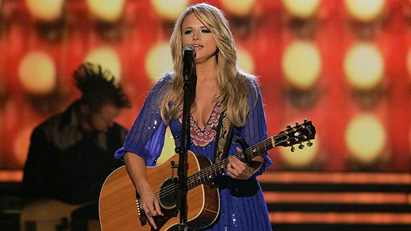 When Miranda Lambert won Top New Female Vocalist for the first time.