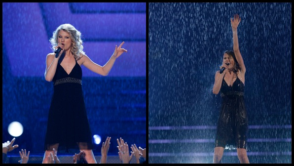 """When Taylor Swift killed it with her performance of """"Should've Said No."""""""