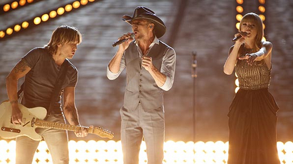 When Tim McGraw got a little help from his famous friends.