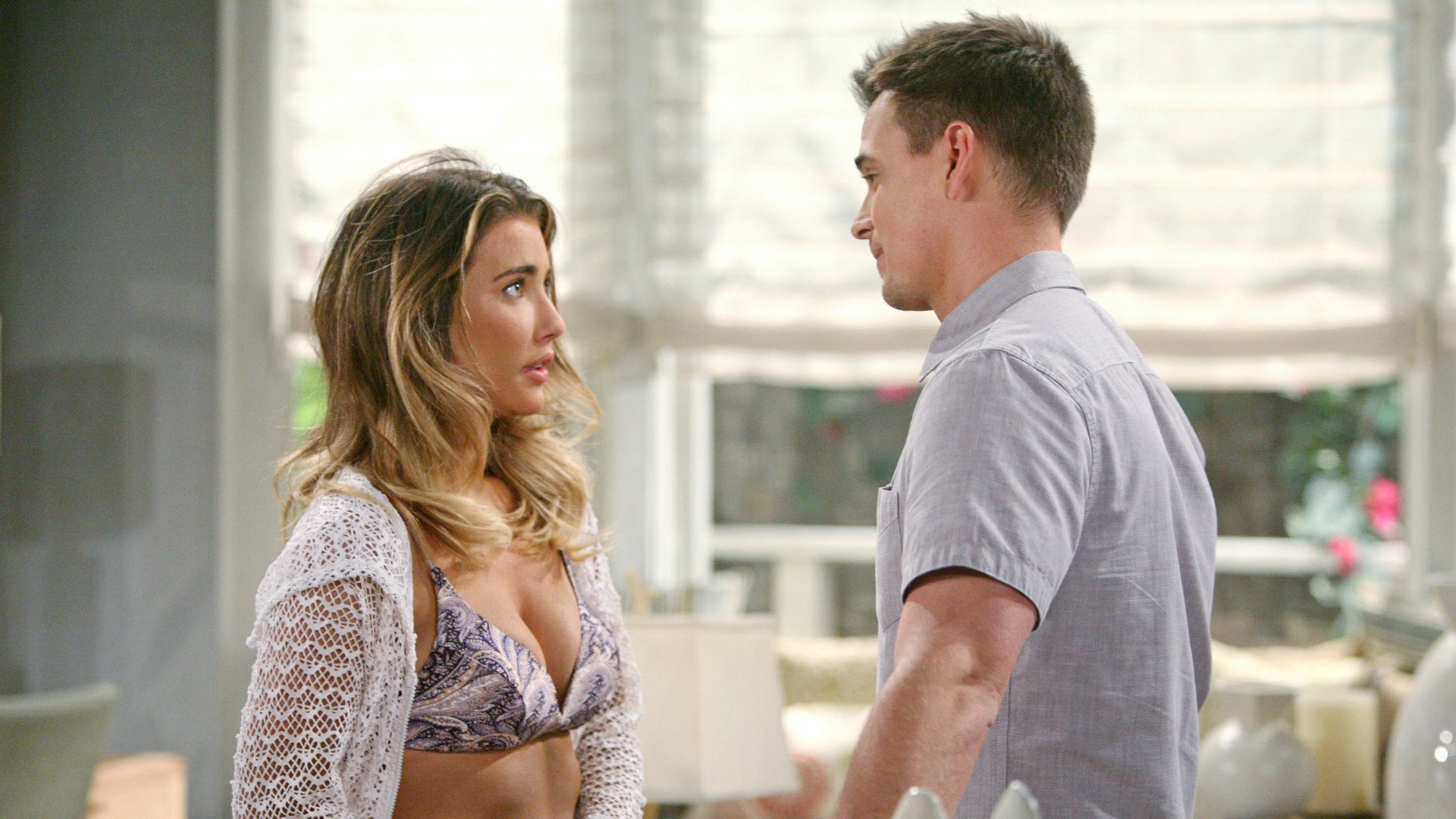 Wyatt opens his heart to Steffy.