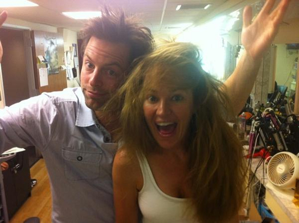 Michael and Sharon's Hair!