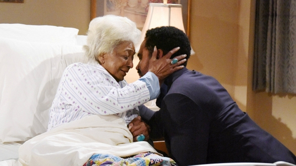 Neil forgave his dying mother on Y&R.