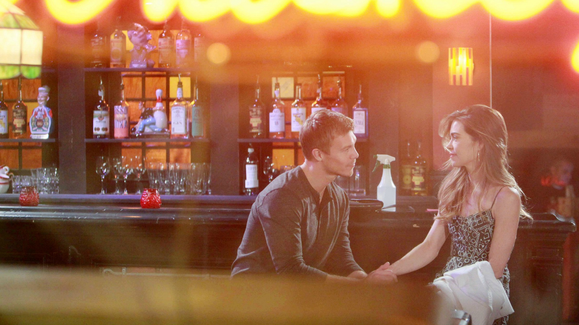Victoria discovers a new side of Travis.