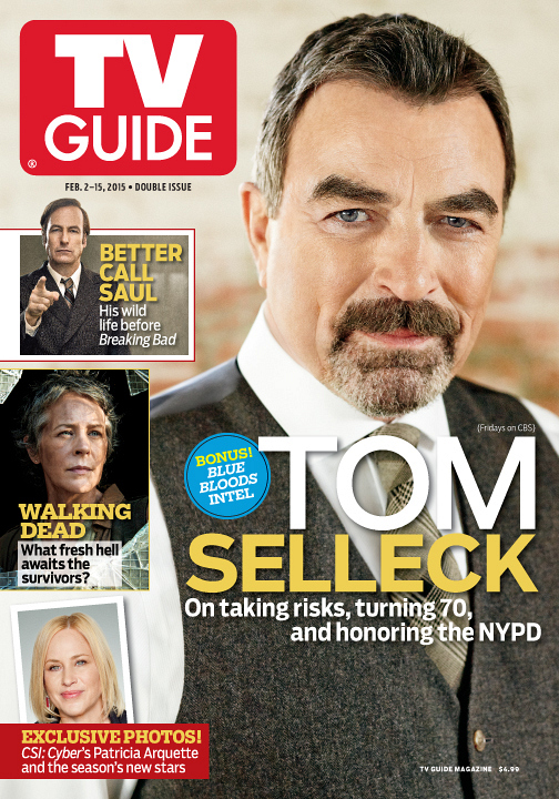 tom selleck on the cover of tv guide first look cbs com rh cbs com Us Weekly Cover This Week OK Magazine Cover This Week