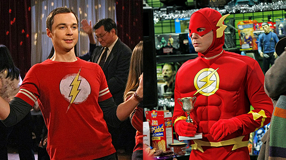 The Flash Has The Answer To All Of Sheldons Problems On The Big
