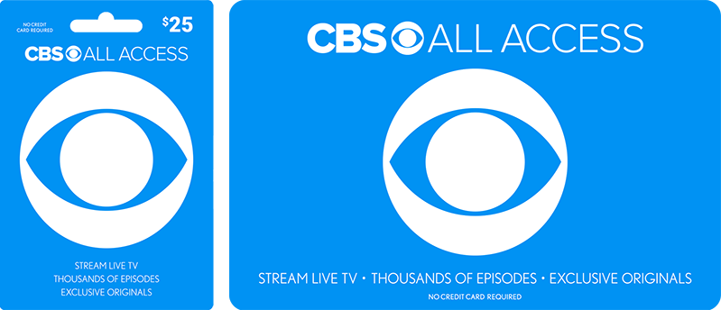 Get Your CBS All Access Gift Card Today - CBS.com