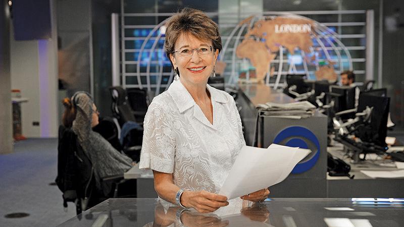 cbs riporter Elizabeth Palmer fogyás