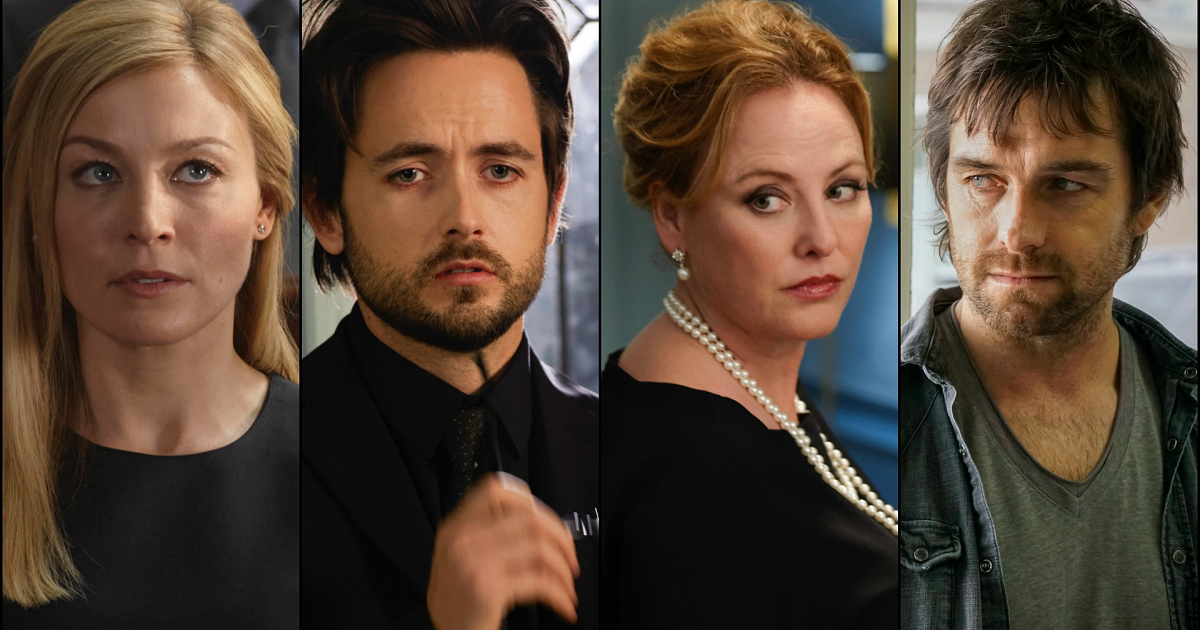 The Cast Of American Gothic Shares Secret To Keeping A