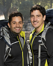 Harley Rodriguez and Jonathan Knight