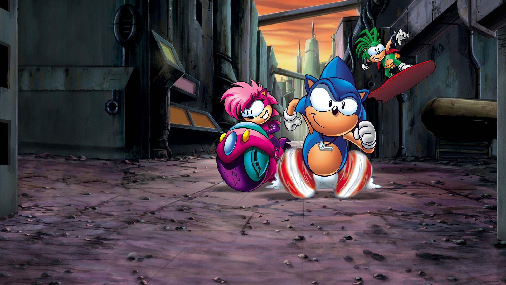Sonic Underground Nickelodeon Watch On Cbs All Access