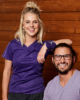 ​Nicole Franzel and Victor Arroyo