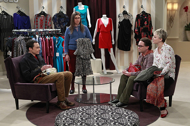 The Big Bang Theory\'s Sheldon and Leonard Go Dress Shopping
