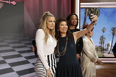 The Best Celeb Selfies On The Talk