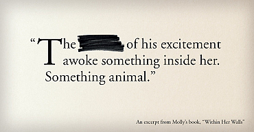 6 Excerpts from Molly\'s New Book So Steamy They Need Censors