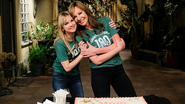 We Can't Get Enough Of Mom's Anna Faris and Allison Janney Being Adorable IRL