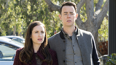 Zoe Lister-Jones And Colin Hanks Make A Gorgeously Gothic Couple