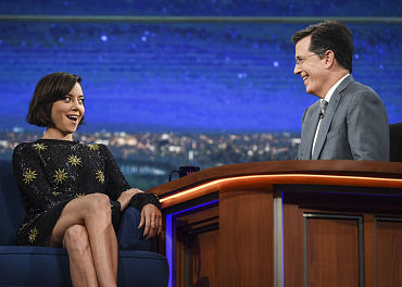 Photos of Aubrey Plaza, Neil deGrasse Tyson, Kevin Hart, and more Late Show guests