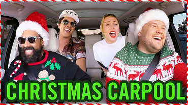 The Carpool Karaoke Version Of Santa Claus Is Comin' To Town