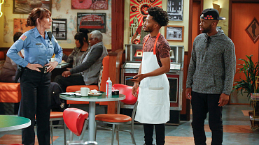 Franco Questions Randy's Cop Capabilities On An All-New Superior Donuts