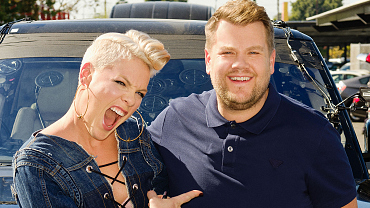 P!nk And James Corden Get The Party Started In New Carpool Karaoke