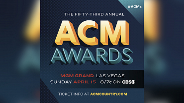 The 53rd Academy Of Country Music Awards Will Air Sunday, Apr. 15 On CBS