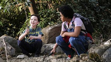 Young Sheldon Crushes On An Older, Wiser Woman