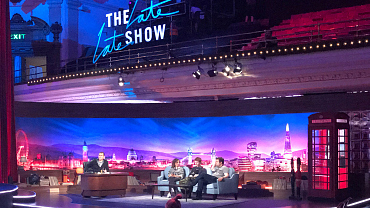 Here's The First Look Of The Late Late Show's London Stage