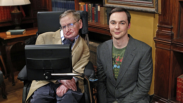 The Story Behind Stephen Hawking\'s Wedding Gift To Amy And Sheldon