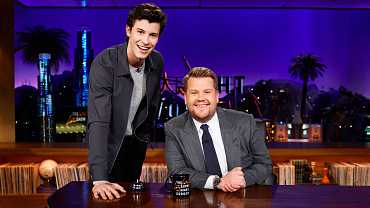 Shawn Mendes Is Crashing At The Late Late Show For A Week