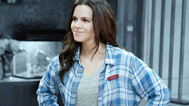 Get The Look: Emily Hampshire's Casual Style From Schitt's Creek