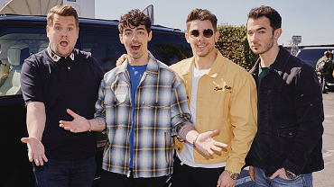 Jonas Brother Reunite For A Full-Week Residency On Late Late Show